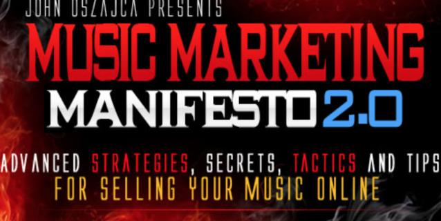 Music Marketing Manifesto