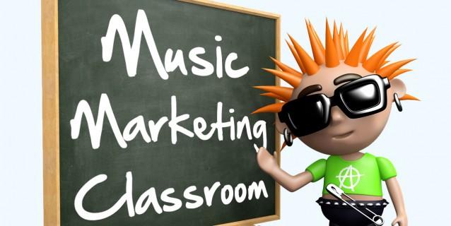 Music Marketing Classroom