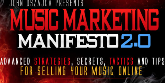 Music Marketing Manifesto